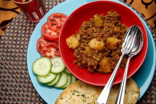 Keema Aloo from Ananda's Gourmet