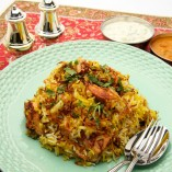 Hyderabadi Chicken Biryani from Ananda's Gourmet