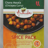 Chana Masala Spice Pack