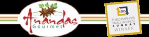 Ananda's Gourmet Winners Logo